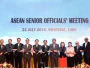 东盟高官会议强调增强内部团结统一的重要性