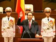 第十四届国会一次会议:陈大光当选越南国家主席