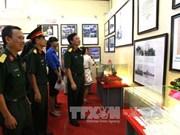 """""""黄沙和长沙归属越南—历史证据和法律依据""""地图资料展在河江省举行"""
