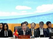 越南在东盟与伙伴国外长会议上再次强调保障东海和平安全稳定和航行与飞越自由的立场
