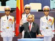第十四届国会一次会议:阮春福当选越南政府总理