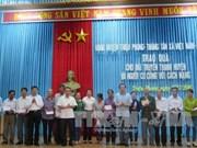 越南荣军烈士日69周年:越通社社长走访慰问广治省优抚家庭