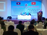 越南昆嵩省与老挝两省完成边境界碑增密加固工作