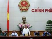 越南政府副总理张和平会见金瓯省革命有功者代表团