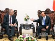 阮春福总理会见德国新任驻越大使克里斯蒂安•贝格尔