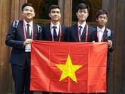 越南学生在2016年国际化学奥林匹克竞赛中夺得两枚金牌