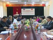 越南河内与老挝万象加强工会合作