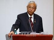 缅甸承诺为东盟的发展加大合作力度