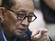 菲律宾现任总统特使访问中国香港