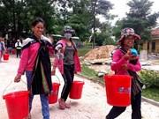 联合国妇女权能署为越南贫困女童和妇女赠送卫生用品