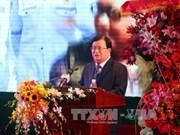 越苏石油联营公司成立35周年暨第一吨原油开钻30周年纪念仪式