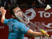 2016年里约奥运会羽毛球比赛:越南选手阮进明取得小组赛的两连胜