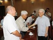阮富仲总书记在胡志明市会见南部离退休高级干部