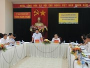 越南计划与投资部部长阮志勇莅临昆嵩省调研指导工作