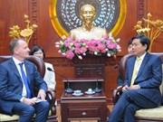 欧洲愿意提供援助把越南胡志明市建设成为东南亚中心
