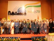 印度共和国独立日69周年庆典在河内举行