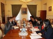 越共中央宣教部代表团出访俄罗斯联邦