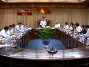 越共中央宣教部部长武文赏赴同塔省调研
