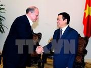 王廷惠副总理会见友邦保险有限公司首席执行官兼总裁杜嘉祺