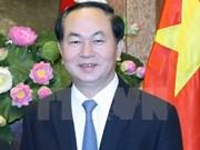 越南国家主席陈大光与夫人今日启程对文莱达鲁萨兰国进行国事访问