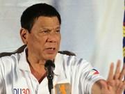 菲律宾总统:与中国举行的双边谈判须在遵守仲裁庭的裁决结果的基础上进行