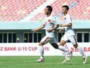 U19 KBZ Bank Cup 2016:越南U19队夺魁