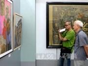 第21届红河平原地区美术展在海防市开展