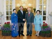 越南-新加坡发表新闻公报