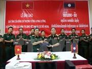 越南协助老挝人民军各主力师团实现现代化