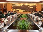 越中同意推动两国防务合作关系深入发展