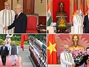 印度总理圆满结束访越之旅双方签署多项合作文件