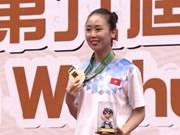 2016年亚洲武术锦标赛:越南队共获4金8银6铜