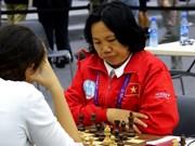 2016年国象奥赛:越南女队击败西班牙队