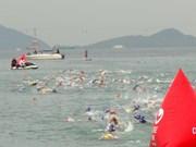 来自30多个国家的215名选手参加2016年越南三项全能挑战赛