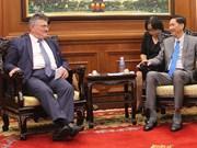 胡志明市和里昂市加大城市发展管理领域的合作力度