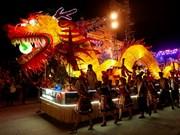 越南全国各地兴高采烈制灯笼欢天喜地迎中秋