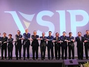 越南-新加坡工业区成立20周年纪念典礼在平阳省举行