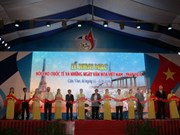 2016年越法国际展览会暨越法文化节在芹苴市举行