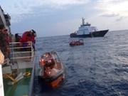 228名获印尼释放的越南渔民安全回国