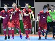 2016年世界杯五人制足球赛:越南队将迎战俄罗斯队