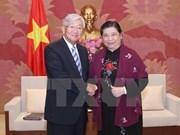 越南国会副主席丛氏放会见世界卫生组织西太平洋地区主任