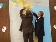 """""""致力于越南和平鸽子""""活动在乌克兰举行"""