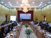 越韩政府间委员会第十五次会议在河内召开