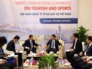 越南政府副总理武德儋会见世界旅游组织秘书长