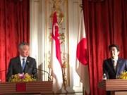 新加坡与日本加强双边关系