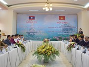 越南昆嵩省与老挝占巴塞省加强投资合作