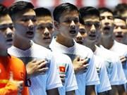 2016年世界杯五人制足球赛:越南队荣获公平竞赛奖