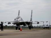 印尼空军在东海举行大规模军事演习