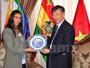 越南共产党代表团访问玻利维亚