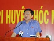 越南第十四届国会第二次会议前夕:党和国家领导接触全国各地选民